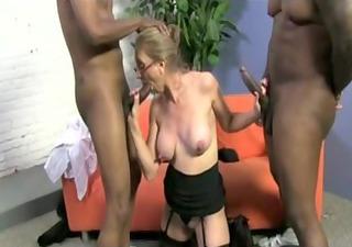 large teat blond mature fucks dark rods!!!!!!!