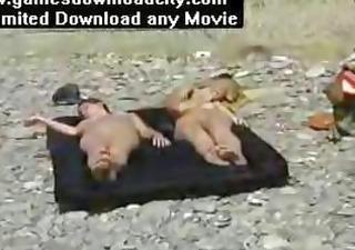 eurobeach nudist 4 gals