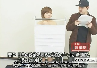 subtitled japanese quiz show with nudist japan