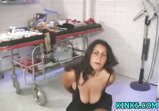 helpless hotty gets abused